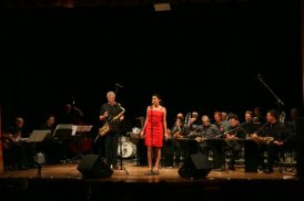 Bob Mintzer, Caterina Comeglio and the Jazz Company big band