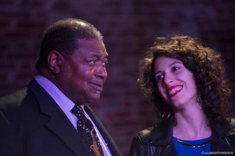 Caterina Comeglio e Pee Wee Ellis, A Vigevano Jazz, 2016