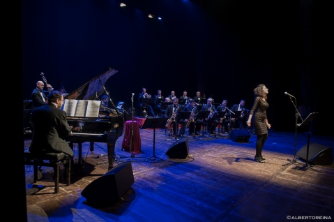 Con la big band Jazz Company, 2015