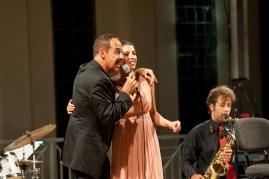 Caterina Comeglio e Massimo Lopez, NottediNote festival, 2012
