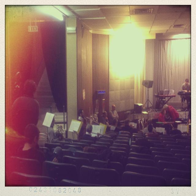 Prove dell' Orchestra con Mauro Pagani