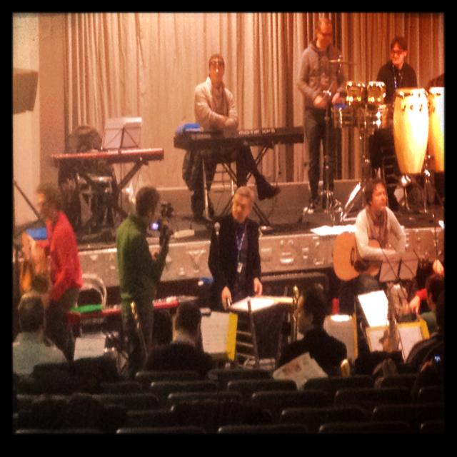 Prove dell' Orchestra con Pif