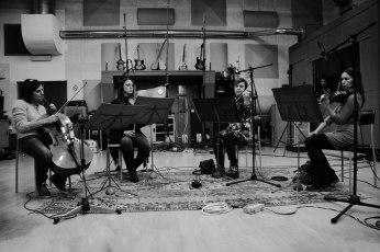 Alessia De Filippo (violino), Stefania Trovesi (violino), Irina Balta (viola) ed Elena Castagnola (violoncello) by Federico Pizzini