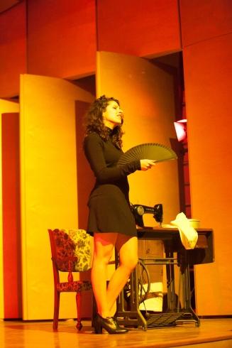 """Caterina Comeglio, """"La Casa di Bernarda Alba"""""""