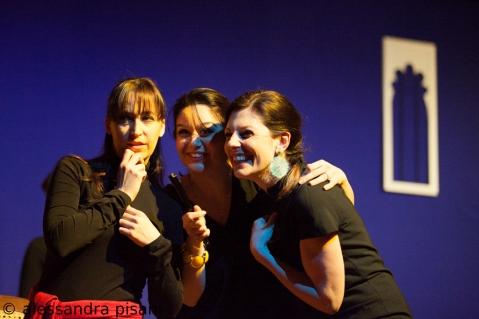 Martirio; Barbara Ferrari, Maddalena e Ivana Timpanaro, Amelia