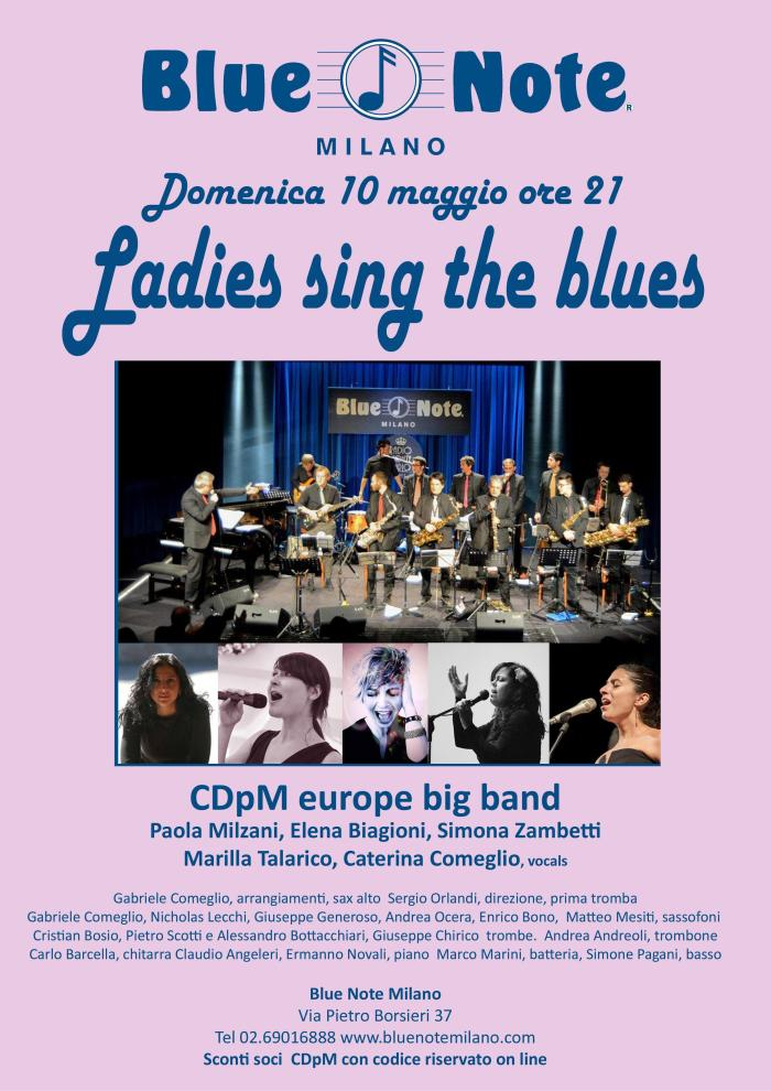 CdPM Europe Big Band al Blue Note