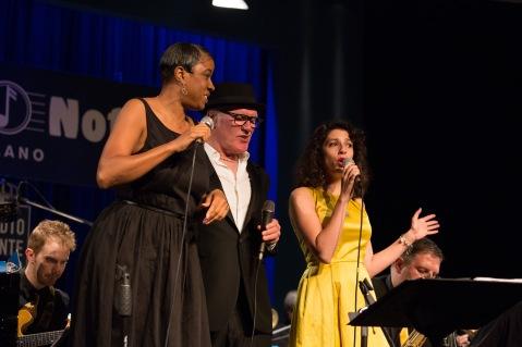 Joyce Yuille, Nick the Nightfly, Caterina Comeglio