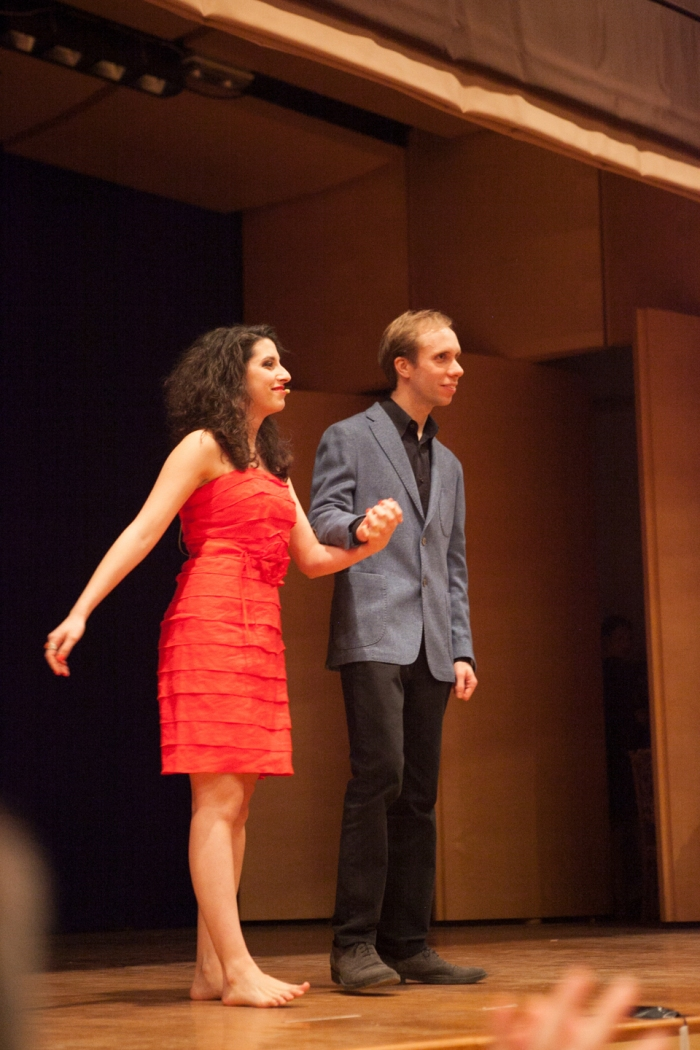 Caterina Comeglio e Luca Casarotti