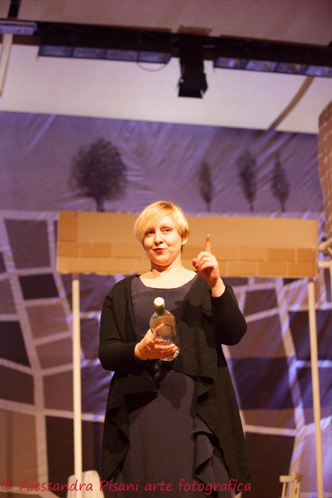 Angela, gestisce la Trattoria del Ponte (Lorella Carisio)