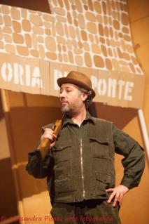 Augusto, l'agricoltore che ama la caccia (Maurizio Menardi)