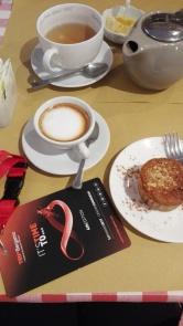 Pre-TED breakfast