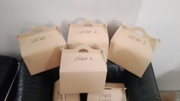 TEDX Bergamo lunchbox